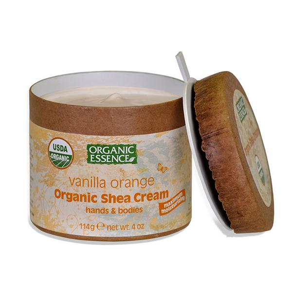 Vanilla,Orange & Shea Skin Cream ORGANIC