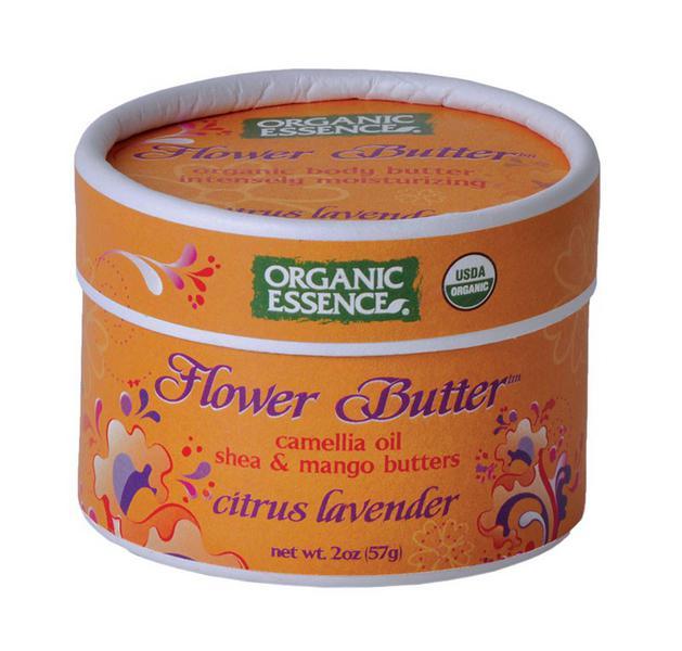 Citrus & Lavender Flower Butter Moisturiser ORGANIC