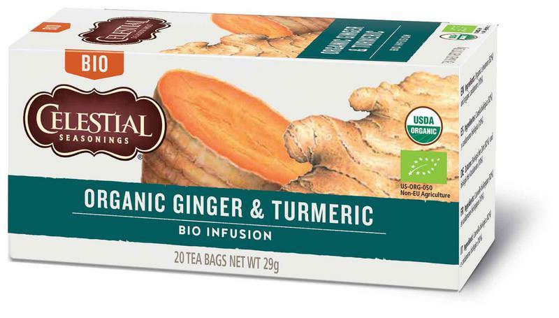 Ginger & Turmeric Tea ORGANIC