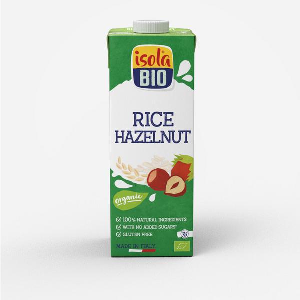 Hazelnut Rice Drink Unsweetened ORGANIC