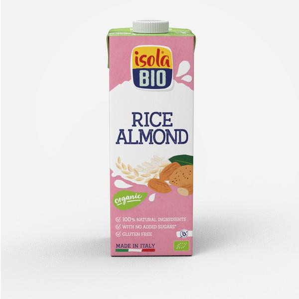 Almond Rice Drink Unsweetened ORGANIC