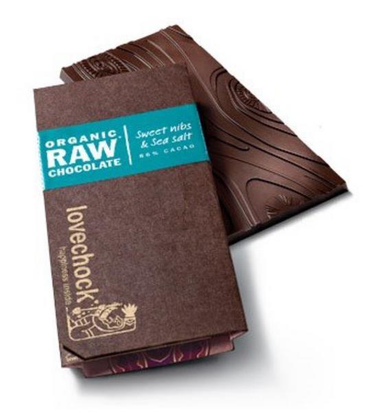 Nibs & Sea Salt Raw Chocolate ORGANIC