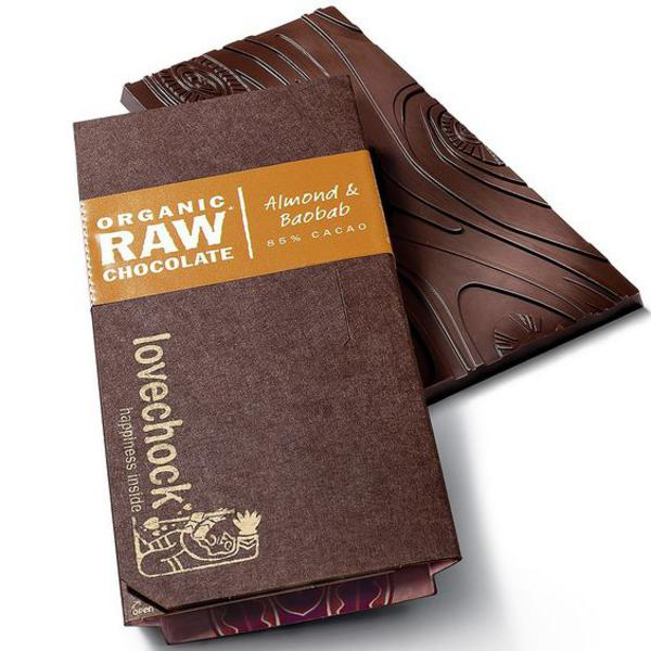 Almond & Baobab Raw Chocolate ORGANIC