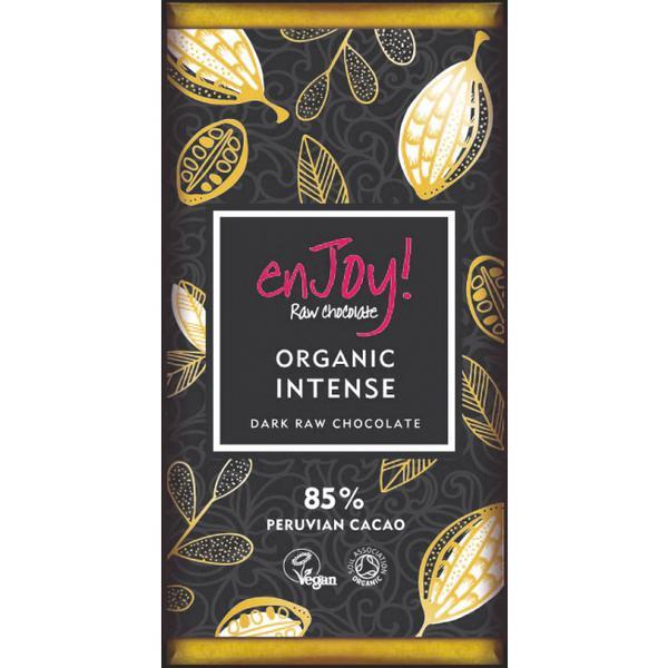 Intense Raw Chocolate 85% Vegan, ORGANIC