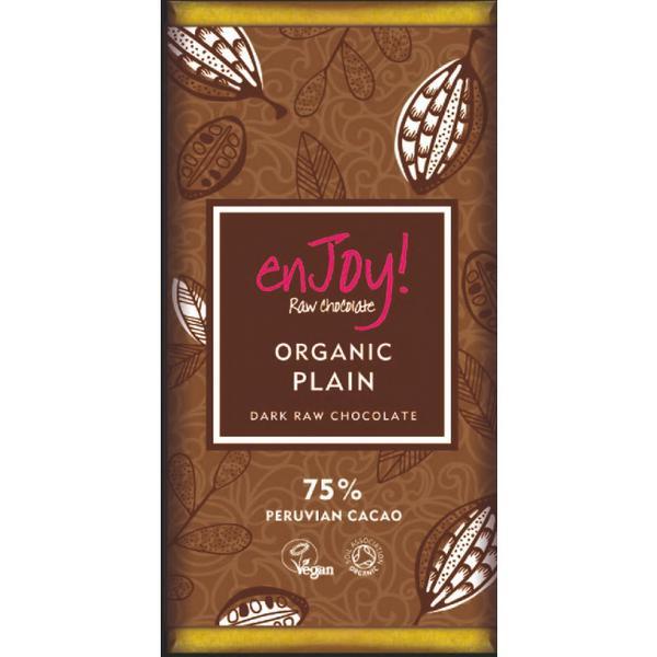 Plain Raw Chocolate 75% ORGANIC