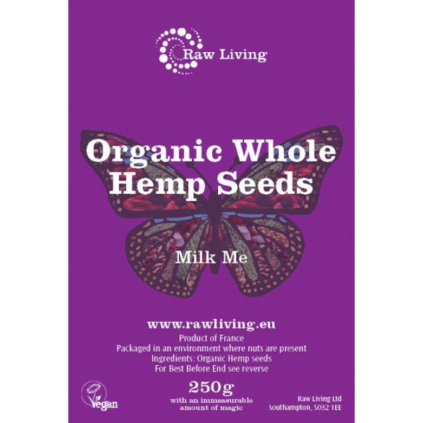 Whole Hemp Seed ORGANIC