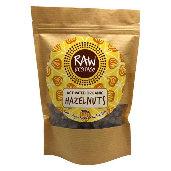 Activated Hazelnuts Vegan, ORGANIC