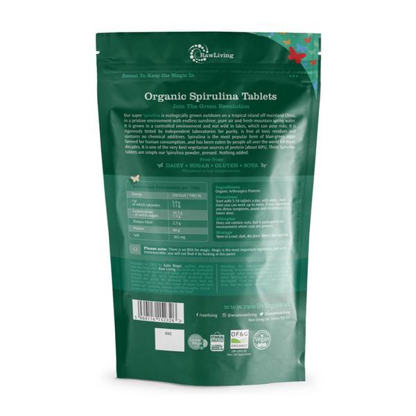 Spirulina Tablets ORGANIC image 2