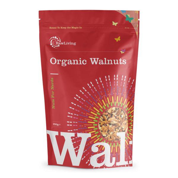 Raw Walnuts Halves ORGANIC