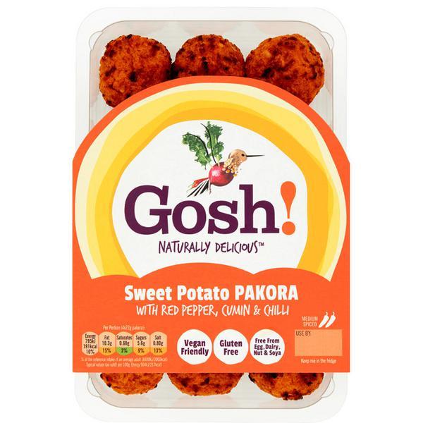 Punchy Sweet Potato Pakora