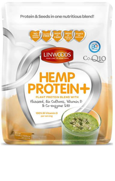 Bio-Culture,Vitamin D,Flaxseed & Co Q10 Hemp Protein dairy free, Gluten Free