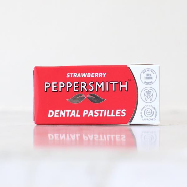 Strawberry Dental Mints sugar free, Vegan image 2