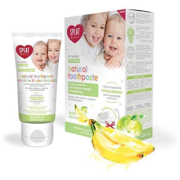 Apple & Banana Toothpaste For Children