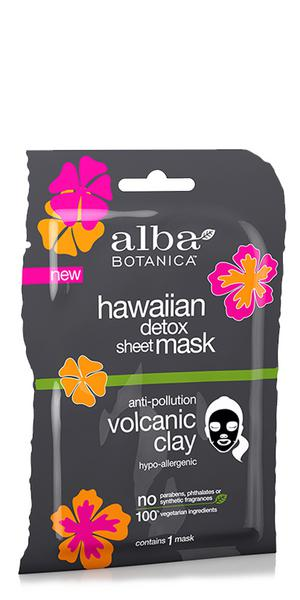 Detoxifying Sheet Mask Volcanic Clay