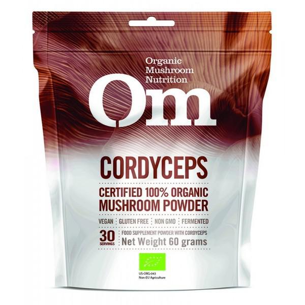 Cordyceps Mushroom Powder Vegan, ORGANIC