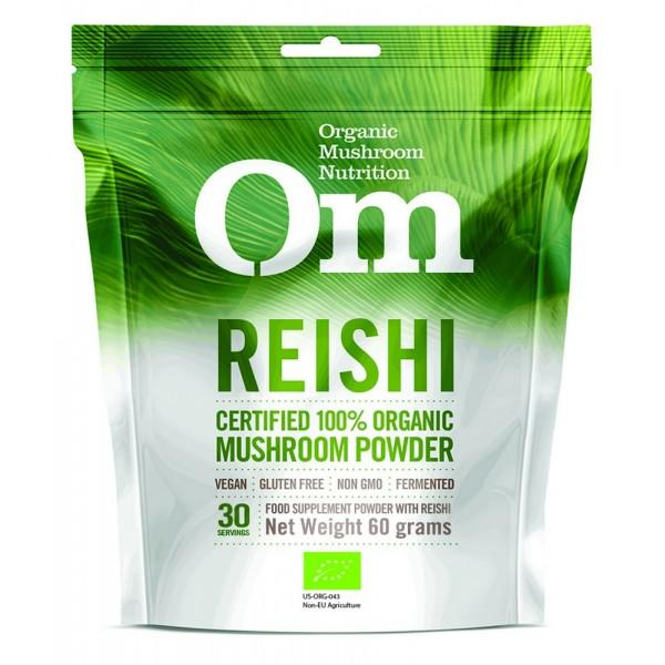 Reishi Mushroom Powder Supplement Gluten Free, Vegan, ORGANIC