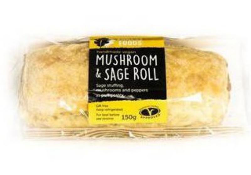 Rolls Sage & Mushroom