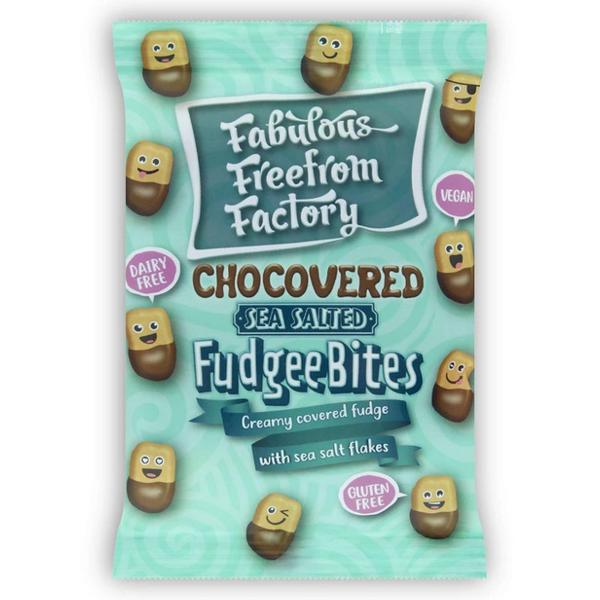 Sea Salt & Chocolate Fudge Bites dairy free, Gluten Free