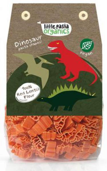 Red Lentil Dinosaurs Pasta ORGANIC