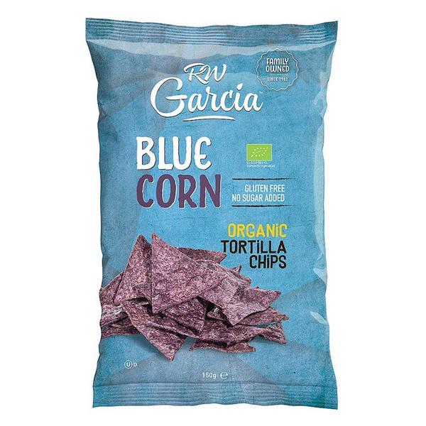 Blue Corn Tortilla Chips Gluten Free, GMO free, ORGANIC