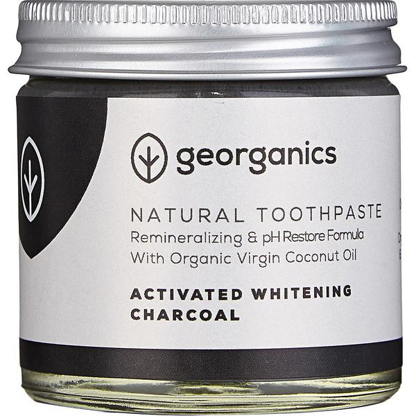 Activated Charcoal Mineral Toothpaste Vegan, ORGANIC