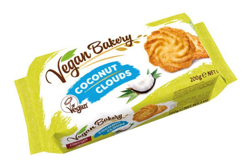 Coconut Clouds Biscuits Vegan