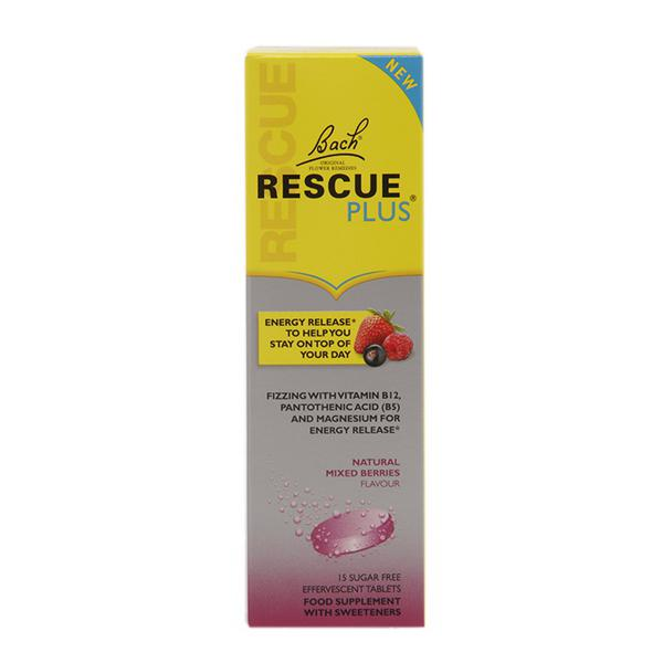 Effervescent Rescue Remedy Plus Flower Remedies