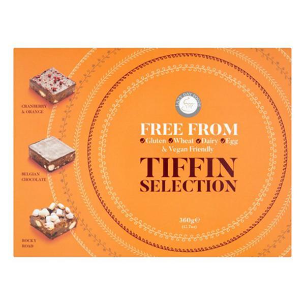 Tiffin Gift Selection Box dairy free, Gluten Free, Vegan