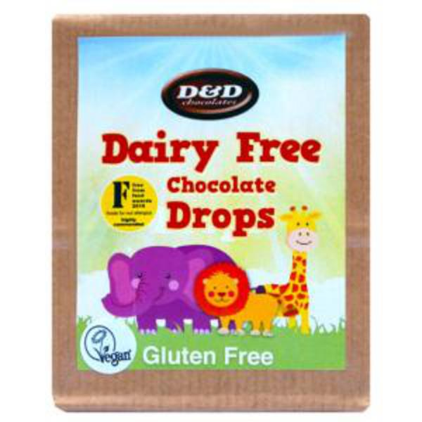 Alternative to Milk Chocolate Drops dairy free, Gluten Free, Vegan