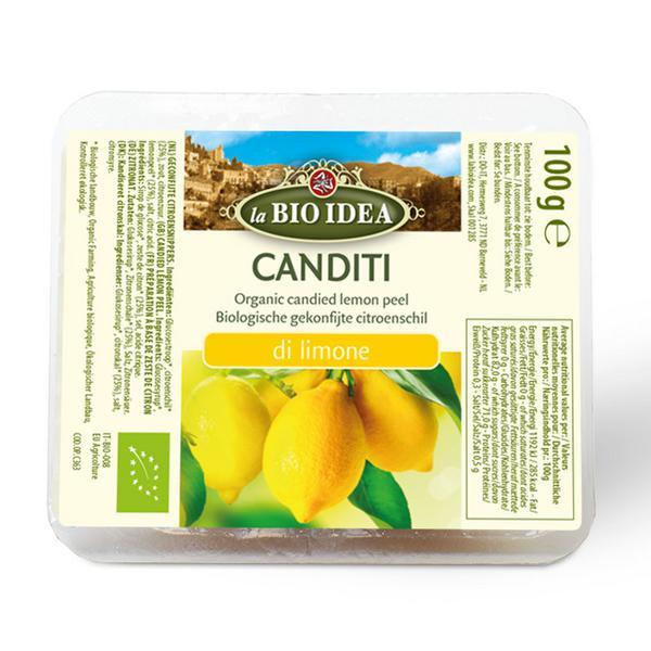 Candied Lemon Peel ORGANIC
