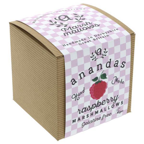 Raspberry Marshmallows Vegan