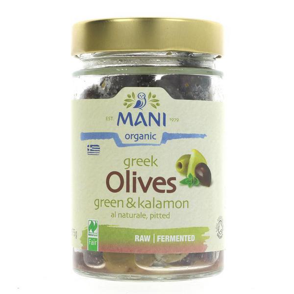 Green & Kalamon Mix Olives ORGANIC