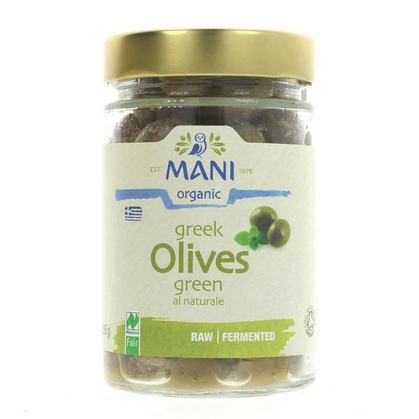 Natural Green Olives ORGANIC