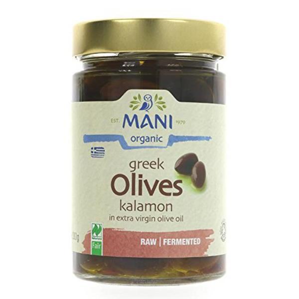 Kalamon Olives in Olive Oil ORGANIC
