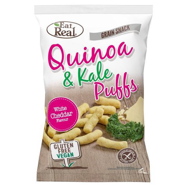 Quinoa & Kale Puffs Gluten Free, Vegan