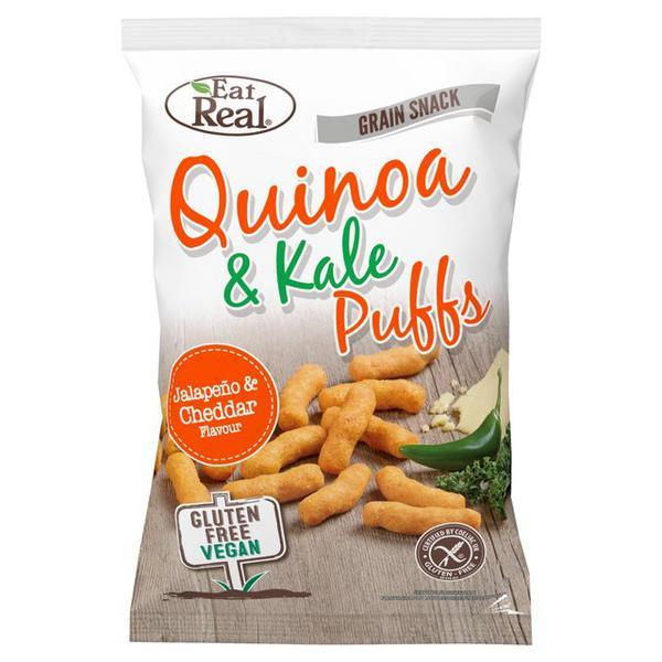 Jalapeno&Cheddar Quinoa & Kale Puffs