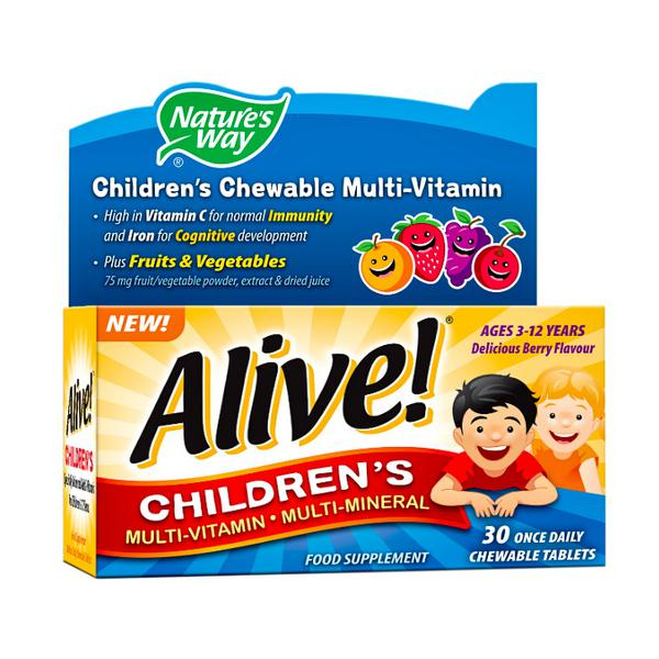 Childrens Chewable Multi Vitamins