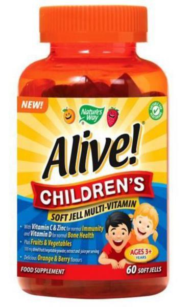 Alive Childrens Multi Vitamins