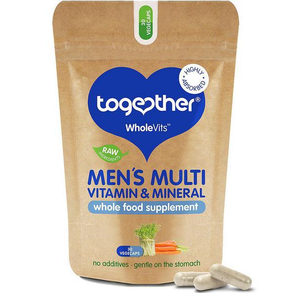 Men's Multi-Vitamin & Mineral Supplement