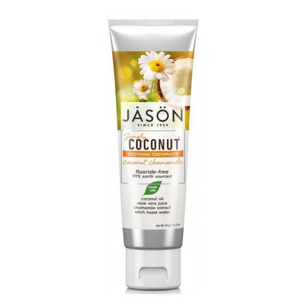 Coconut Chamomile Toothpaste Vegan