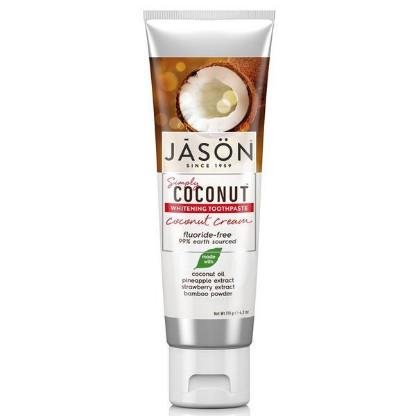 Coconut Cream Whitening Toothpaste Vegan