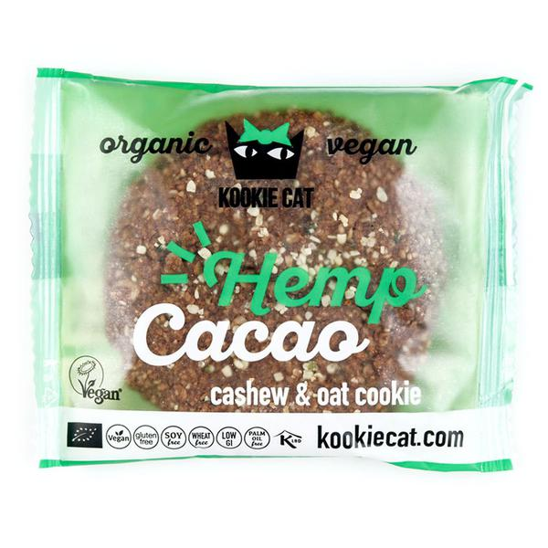 Hemp & Cacao Cookie Vegan, ORGANIC