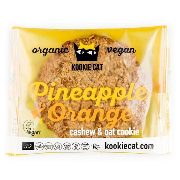Pineapple & Orange Cookie Vegan, ORGANIC