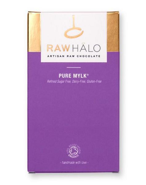 Pure Mylk Raw Chocolate dairy free, sugar free, Vegan, ORGANIC