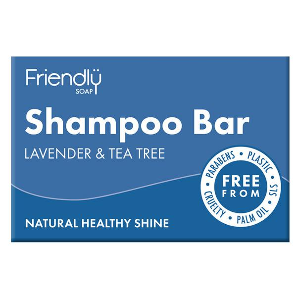 Lavender&Tea Tree Shampoo & Conditioner Bar Vegan