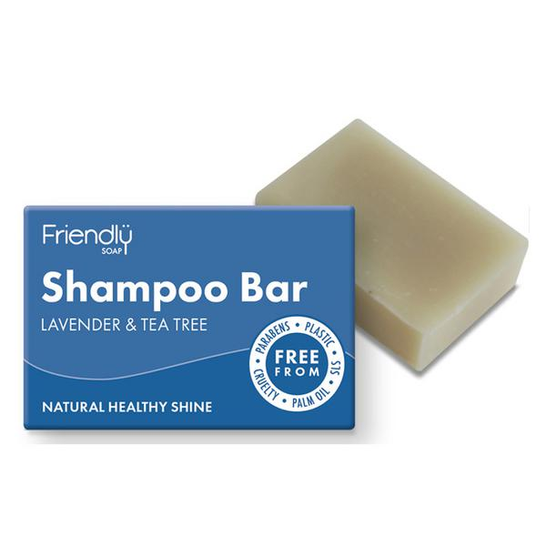 Lavender&Tea Tree Shampoo & Conditioner Bar Vegan image 2