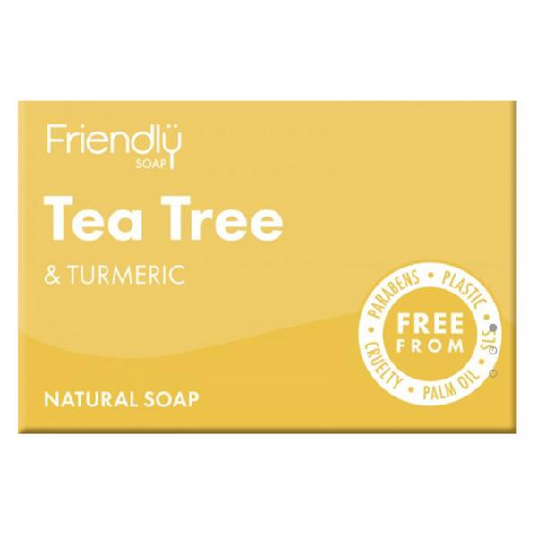Tea Tree & Turmeric Soap Vegan