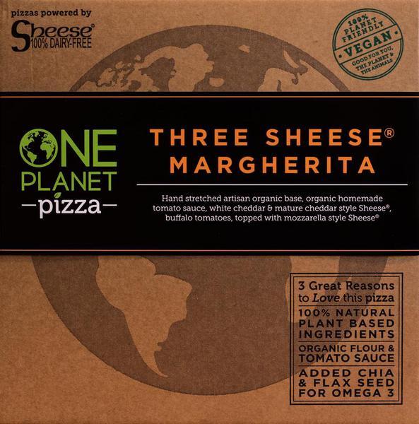 Three Cheese Margherita Pizza dairy free, Vegan