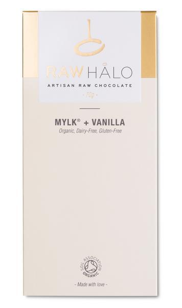 Mylk & Vanilla Raw Chocolate Vegan, ORGANIC