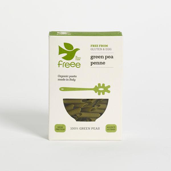 Green Pea Penne Pasta Gluten Free, ORGANIC